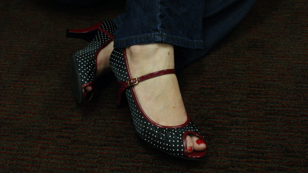 The hottest shoes at BlissDom