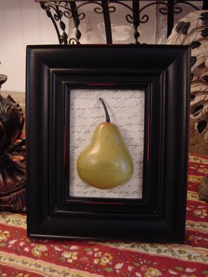 Pear Wall Art