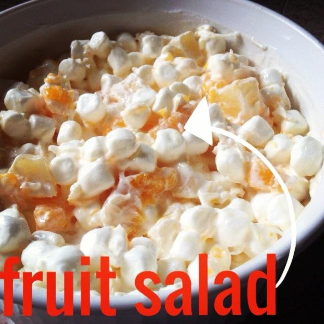 My favorite fruit salad